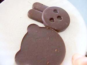 チョコチップが変身