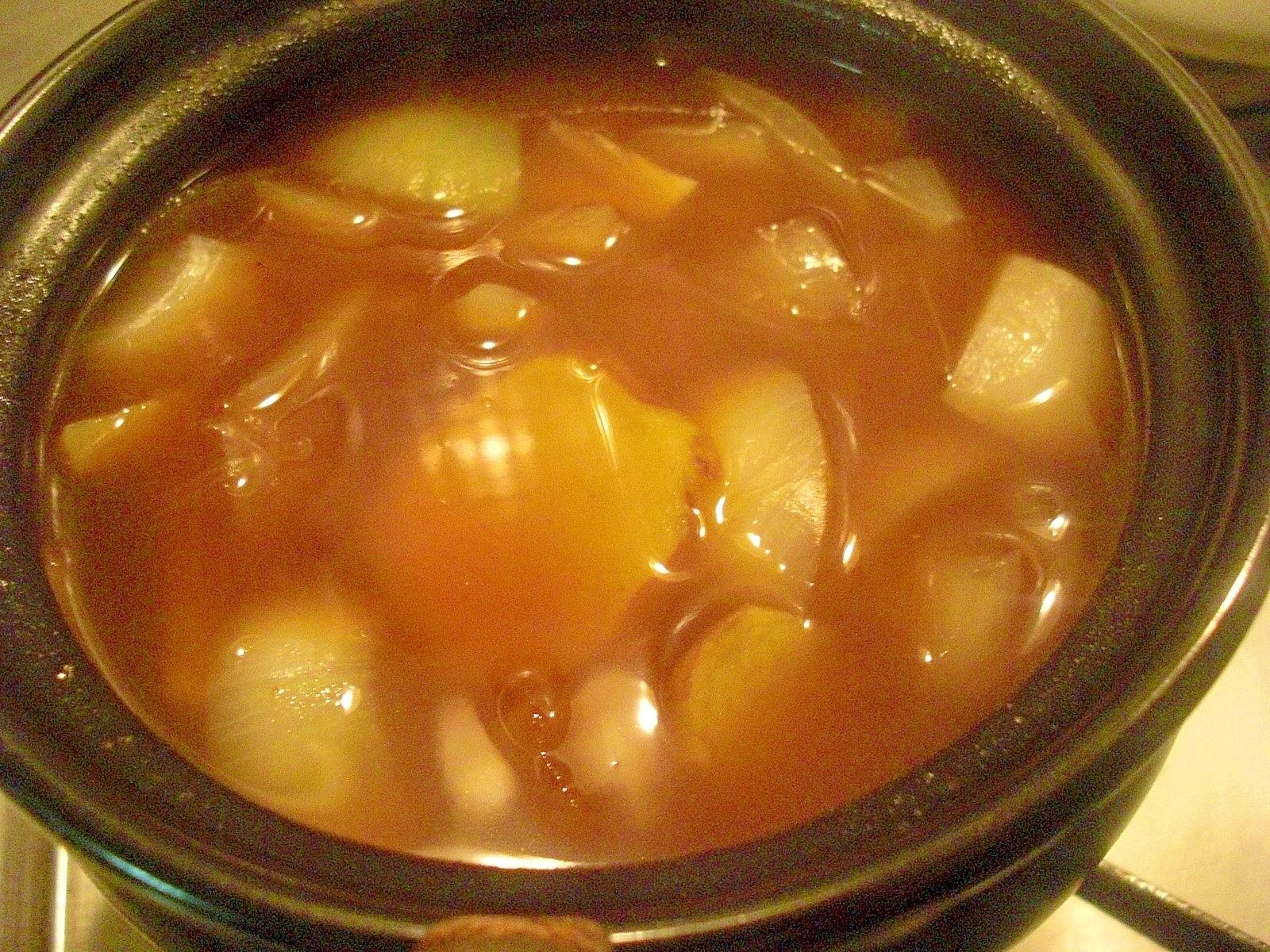 ハッシュドビーフスープ
