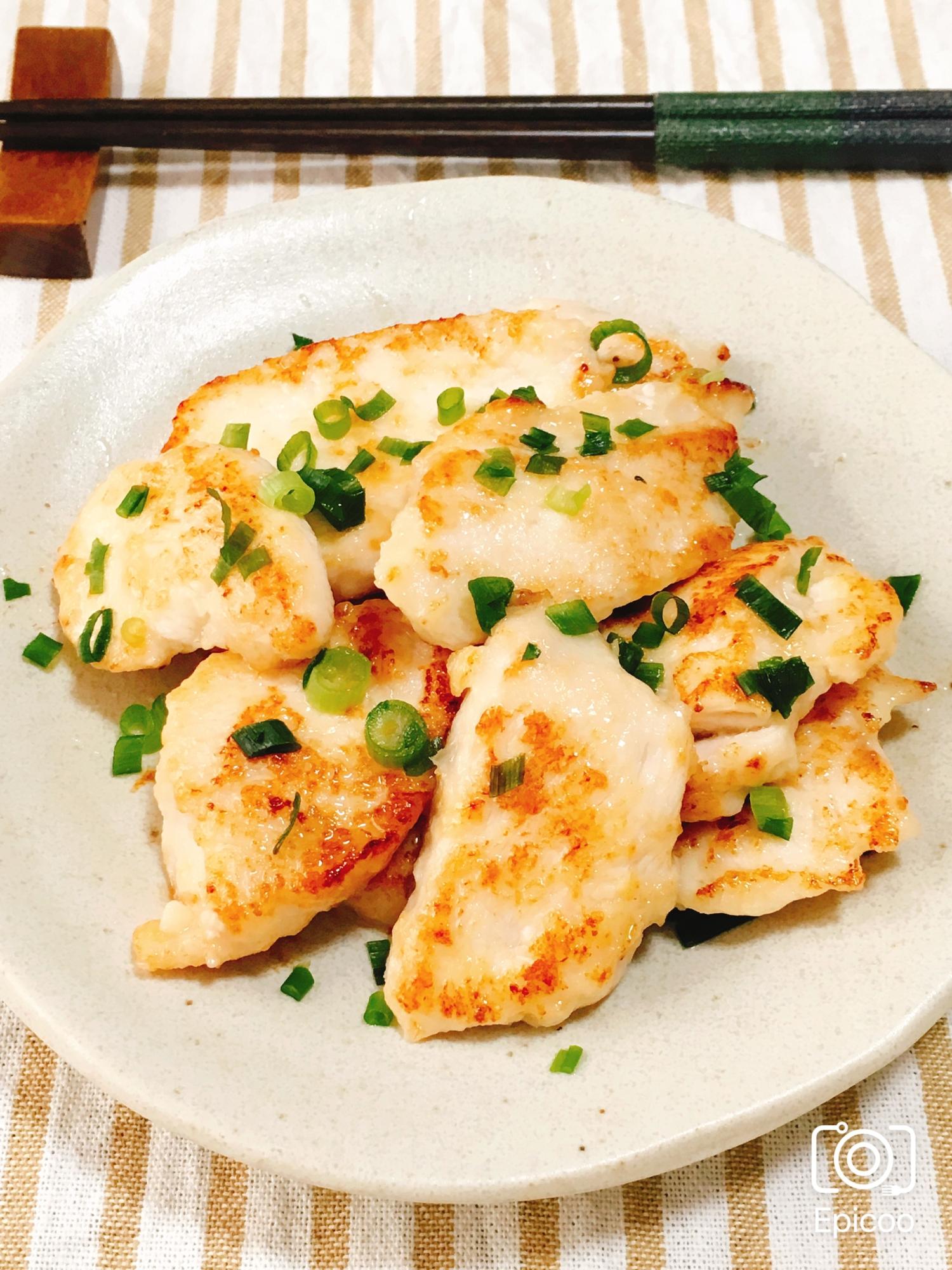 柔らか鶏胸肉の揉むだけ簡単塩マヨ焼き レシピ・作り方