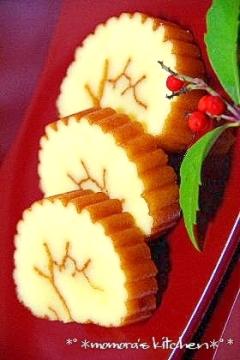 お節に♥ケーキみたい♥フワフワ伊達巻♪
