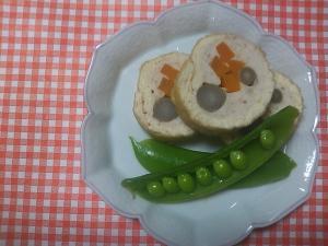 鶏と豆腐の信太巻