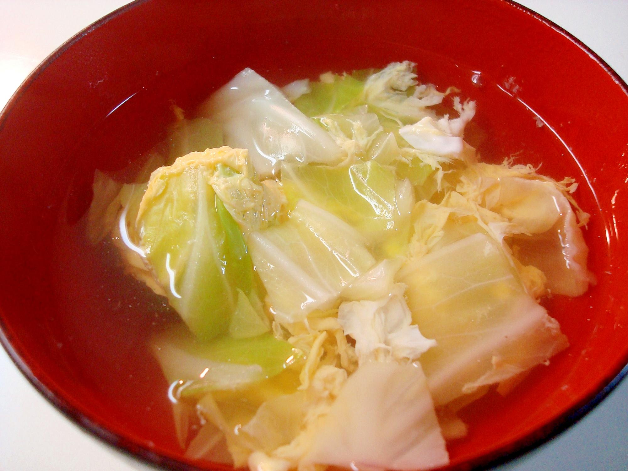 中華料理にピッタリ★たまごスープ~♪