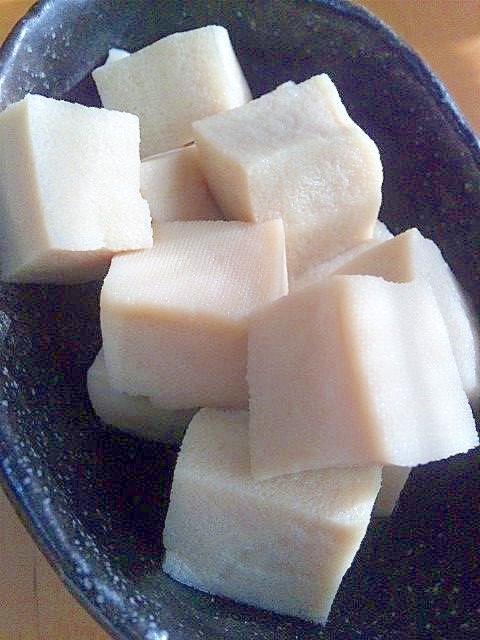 煮汁がじゅわっ☆高野豆腐