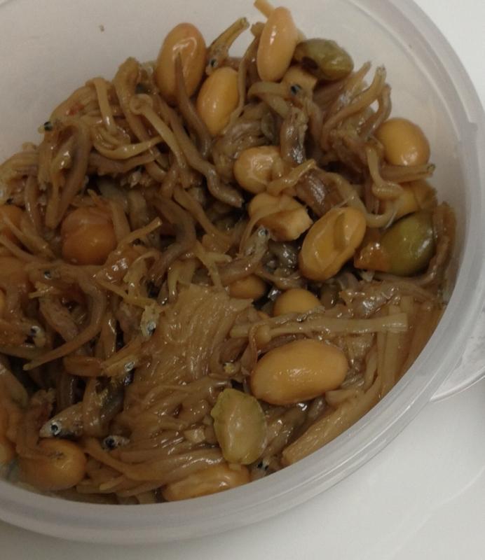 常備菜…えのき・じゃこ・大豆の佃煮*