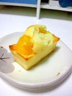 ドライパイナップルのプチケーキ