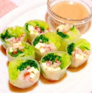 春巻き 簡単 レシピ