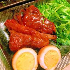 豚スペアリブの中華風セロリ煮込み