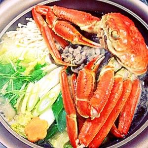 簡単!蟹と野菜鍋
