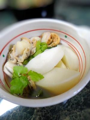 和食の副菜★ホタテと蕪の煮物