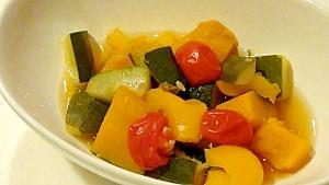 夏野菜のシンプル煮