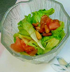 松の実の中華風サラダ