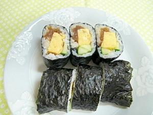 酢めしの少ない巻き寿司