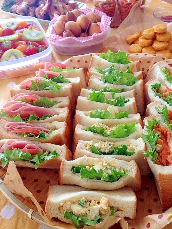 【副菜】ポケットサンドイッチ