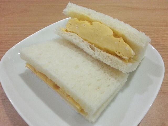 レンジで★和風だし卵サンドイッチ