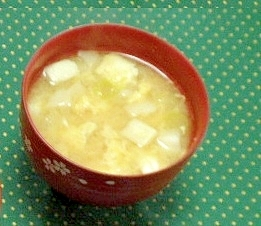 はんぺん 味噌汁