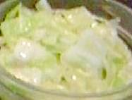 ヨーグルトドレッシングのキャベツサラダ