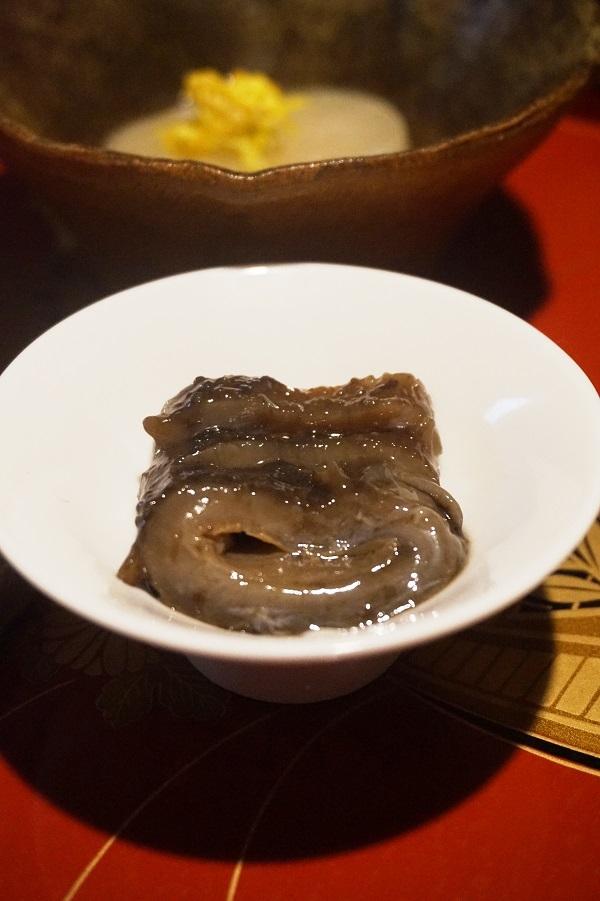 料理 ナマコ ナマコは火を通した方が美味しいかもしれない