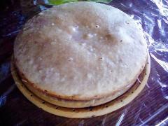小麦粉で作るあんこケーキの巣ごもりバージョン