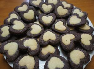 バレンタインに♪ハートのかわいい型抜きクッキー レシピ・作り方 by happy_xmas|楽天レシピ