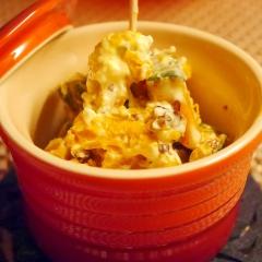 カボチャとクリームチーズのデリ風サラダ