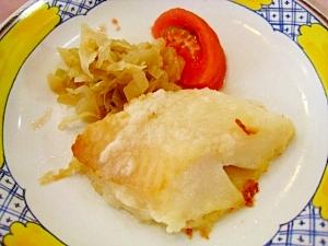 白身魚のホイル包みムニエル
