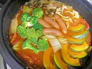 和風トマト鍋♪
