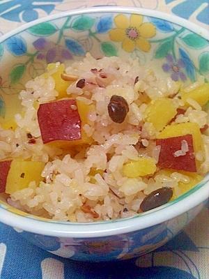16穀米入りさつま芋ご飯