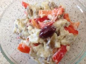 茄子のヨーグルトサラダ