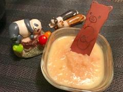 皮ごと使ってフルーティりんごバター