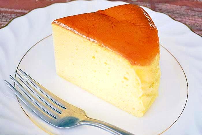 スフレチーズケーキ レシピ・作り方