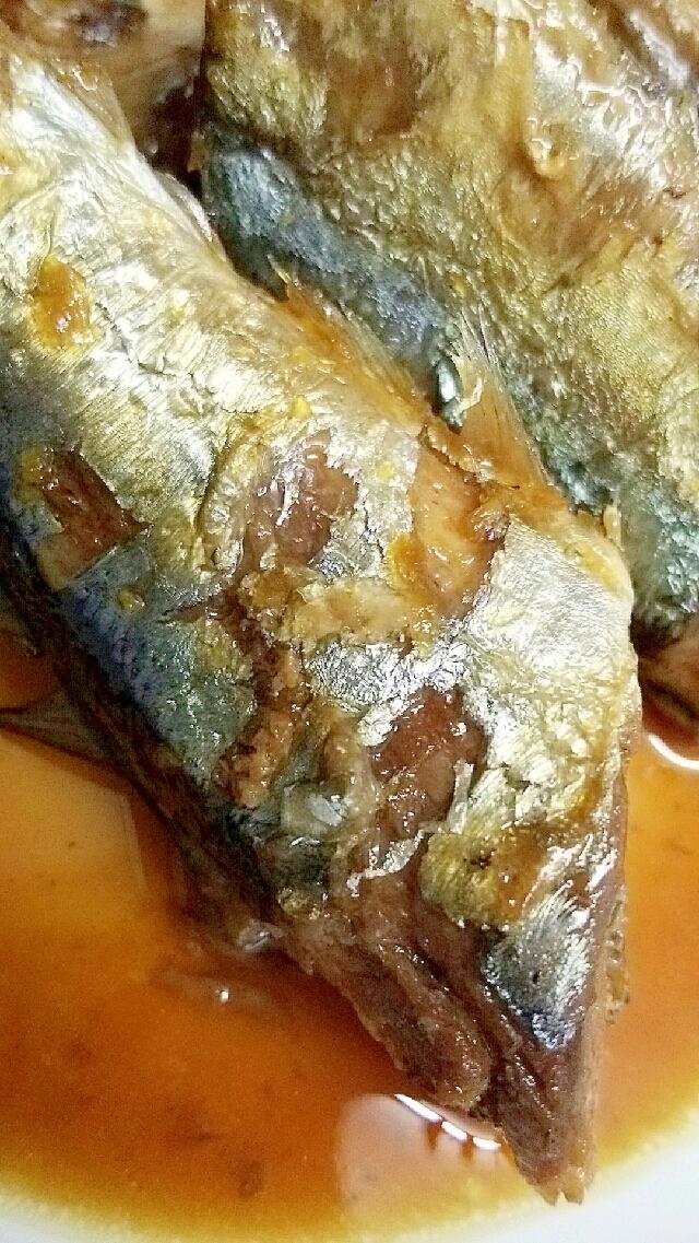 秋刀魚の砂糖醤油煮