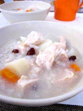 風邪引きさん応援簡単炊飯器任せ栄養粥