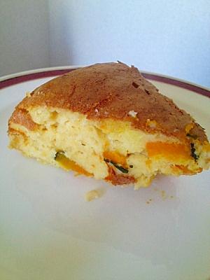 炊飯器deふっくら☆かぼちゃのおからケーキ