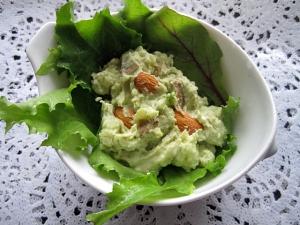 ポテト&アボカド&クリチのクリーミー美肌サラダ