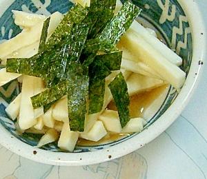 和食の一品、山芋のポン酢和え