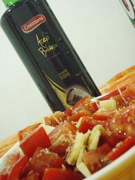 レッドパワー☆バルサミコの赤野菜サラダ