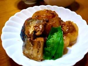 サバ缶大根煮 レシピ・作り方