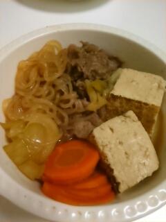 我が家の肉豆腐