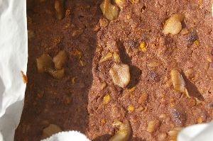 カボチャ入りのココア蒸しケーキ