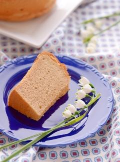 ロイヤルミルクティシフォンケーキ