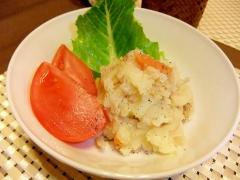 リメイク☆塩分控えめ切干大根のポテトサラダ