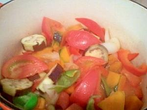 夏野菜たっぷり