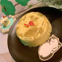 甘じょっぱさがヤミツキ*桜葉豆乳×練乳ぷりん