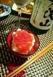 ワインに日本酒に、洋梨のみぞれ和え