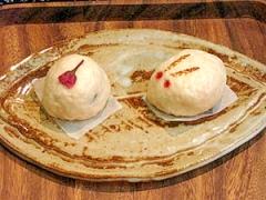 パンケーキミックスで和菓子♪簡単桜のうさぎ饅頭!