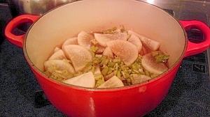 ルクルーゼで簡単☆大根の煮物