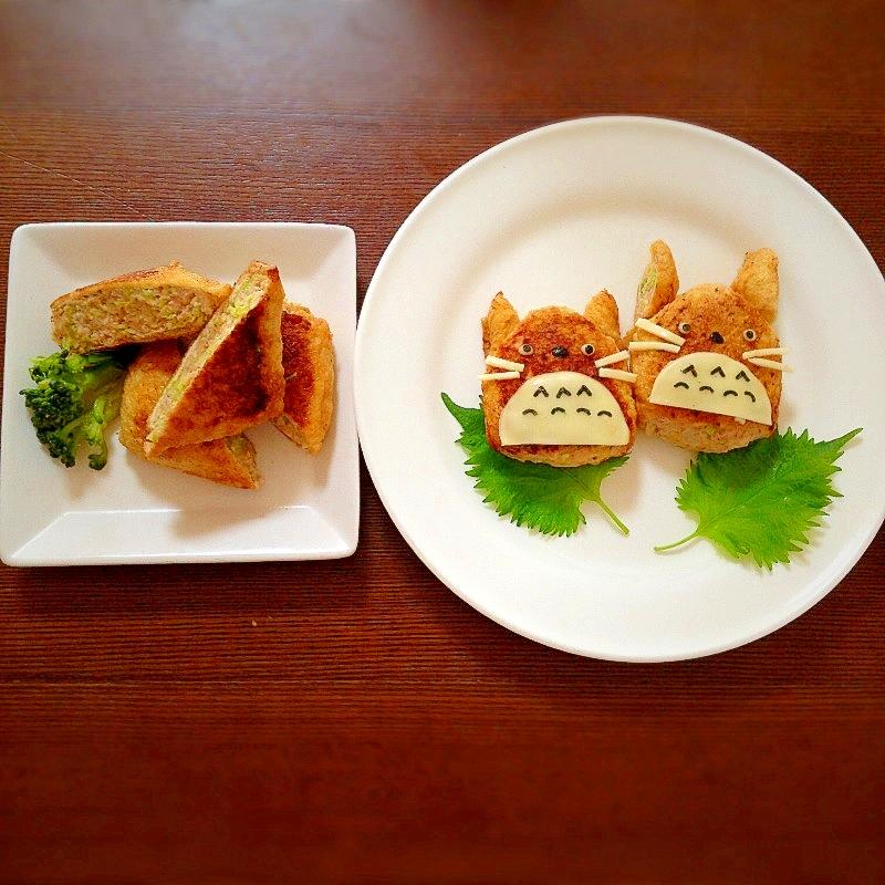 キャベツと鶏ひき肉の詰め焼き