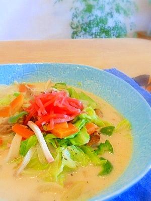残り野菜で簡単!ちゃんぽん風野菜炒め煮