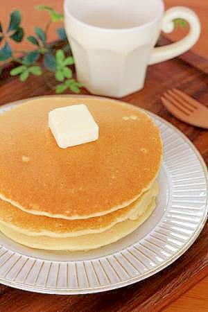 ふわふわで美味しい♪手作りパンケーキ