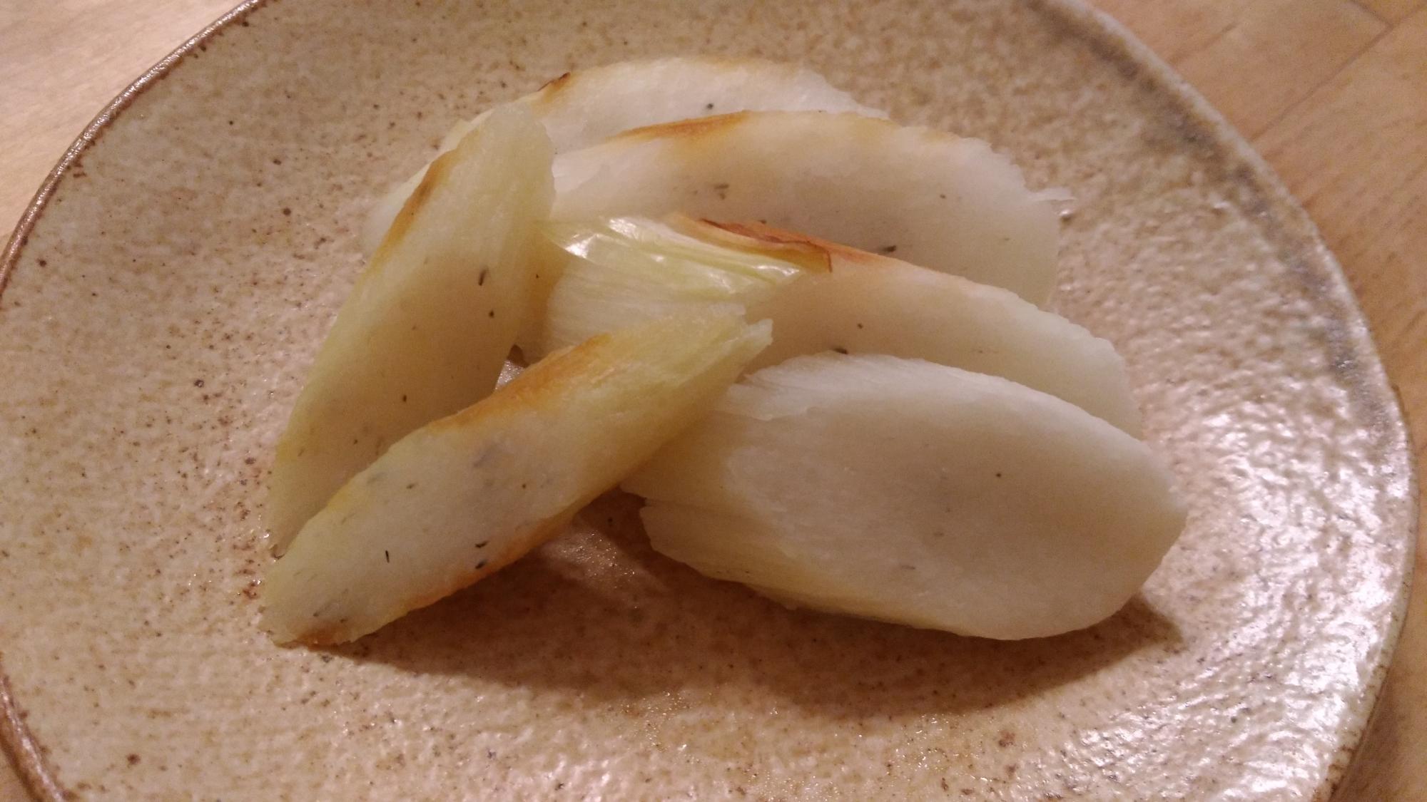 マコモダケのホイル焼き